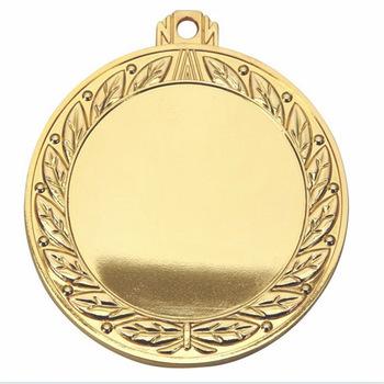 gold insert medal