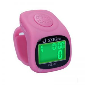 LED finger tally counter